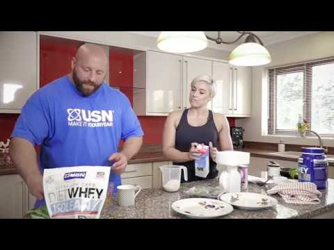 Faces of USN Series - Protein Pancakes Recipe