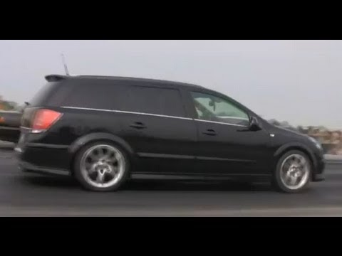 opel astra caravan v6 vs mitsubishi lancer drag race. Black Bedroom Furniture Sets. Home Design Ideas