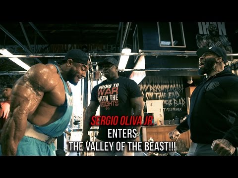 SERGIO OLIVA JR. ENTERS THE VALLEY OF THE BEAST!!!