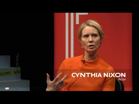 About the Work: Cynthia Nixon | School of Drama