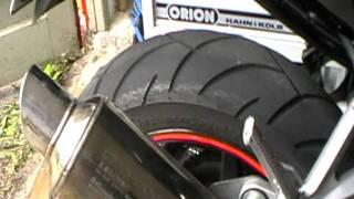 Hyosung GT 125 R Soundcheck Original Exhaust