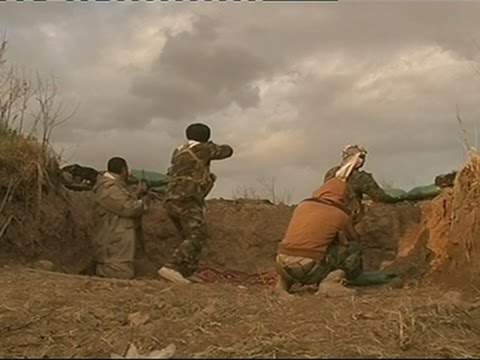 Raw: Iraqi Troops Engage IS Forces Near Tikrit