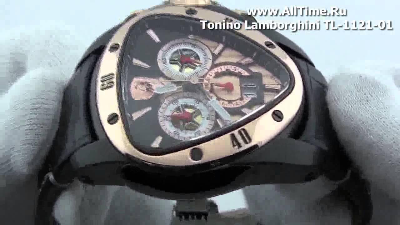 Мужские наручные швейцарские часы Tonino Lamborghini TL-3109-01 .