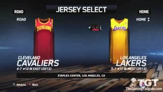 NBA Live 14 - Uniforms