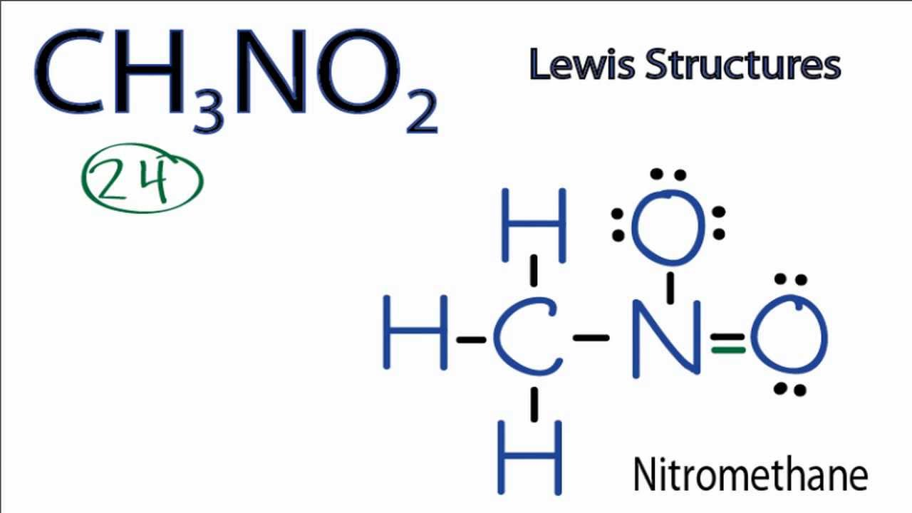 Ch3no2 lewis structure how to draw the lewis structure for ch3no2 ch3no2 lewis structure how to draw the lewis structure for ch3no2 youtube pooptronica Images