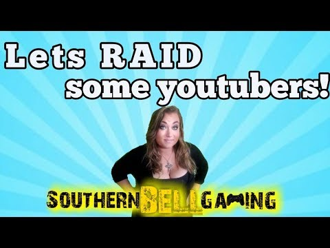 RAID & Share the Love stream!! lets be an awsome community to each other