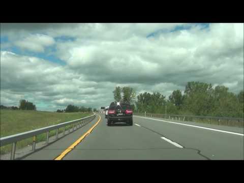 New York - Interstate 87 North (Adirondack Northway) - Mile Marker 140 to 160
