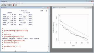 R Tutorial #10 - Linear Regression