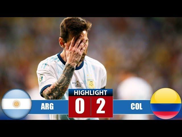 Argеntinа vs Cоlоmbіа 0-2 Highlights & Goals   Resumen y Goles - Cоpа Аmériса 2019