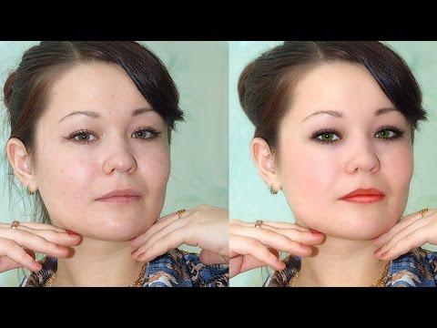 Как сделать макияж в Фотошоп