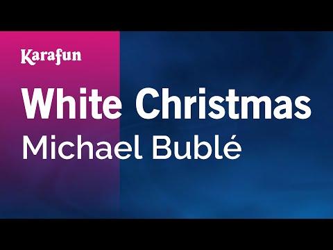 Karaoke White Christmas - Michael Bublé *