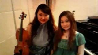 「リベルタンゴ」 A.ピアソラ □Duotango□ ピアノ 丸野綾子 バイオリン ...