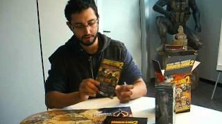 Unboxing Borderlands 2 Vault Hunter Edition