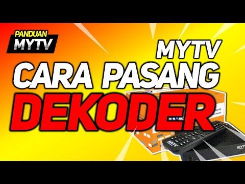 Cara Pasang Dekoder MYTV (lengkap)