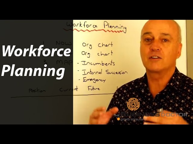 Workforce Planning - The Business Doctor