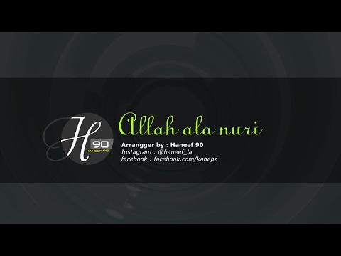 Karaoke sholawat Allah ala nuri Rosulillah lengkap dengan liriknya..