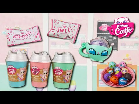 Cats + Tea + Coffee With Kitten Catfe! New Purrista Girls And Tiny Meowbles!