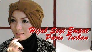 Tutorial Hijab Segi Empat Paris Turban by Revi #145