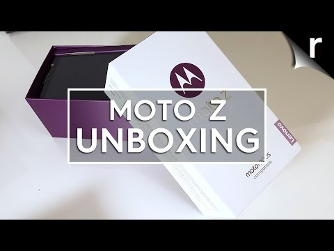 Moto Z unboxing & first look review (UK model)
