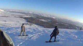2 дня на сноубордах в Кувандыке '16...