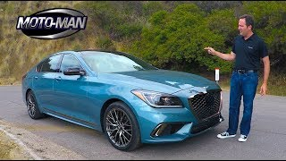 2018 Genesis G80 Sport 3.3 Twin Turbo V6 TECH REVIEW 1 of 2