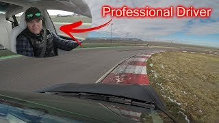 Professional Race Car Driver Reacts to Tesla Model 3 Track Mode!