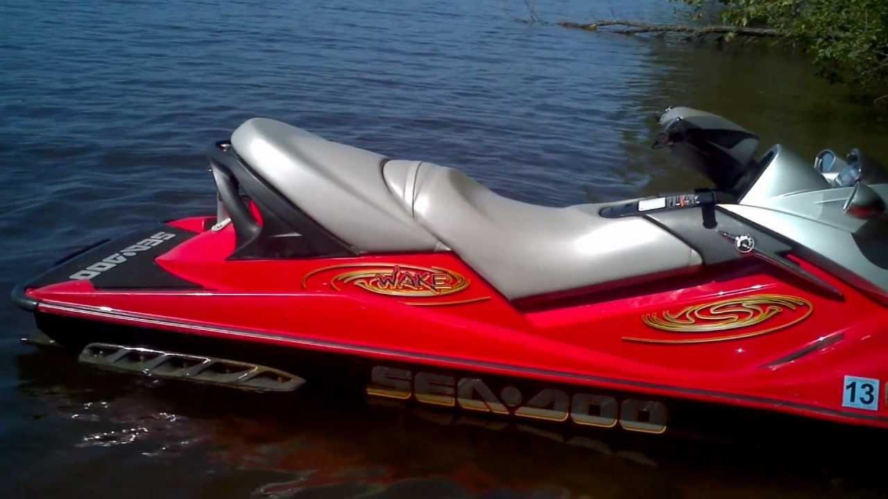 2008 sea-doo wake | top speed.