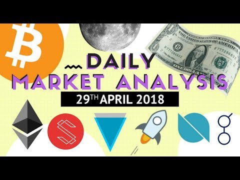 Top Altcoin Analysis - BTC, ETH, ICX, XLM, ONT, XVG and GNT