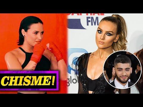 Perrie Edwards Mentirosa, Demi Lovato Peleadora de MMA?