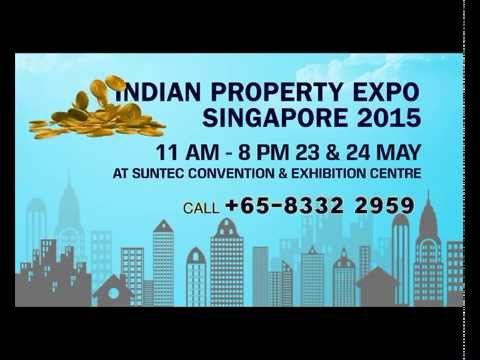 Indian Property Expo Singapore 2015 on 23-24 May 2015 at Suntec & Convention Centre