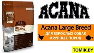 Сухой корм для собак Acana Adult Large Breed купить в Минске - Акана для крупных и гигантских пород