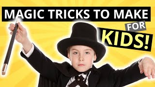 Easy Magic Tricks to Make for Kids - DIY Tricks for Kids to Vanish, Transform and More
