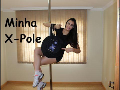 Minha Barra da X-Pole - Tutoriais de Pole Dance por Alessandra Rancan