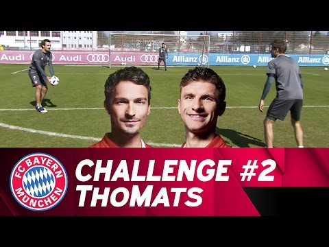 ThoMats #2 | Two Touch Challenge | Müller vs. Hummels