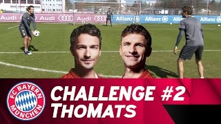 ThoMats #2 | Two Touch Challenge | Müller vs. Hummels thumbnail