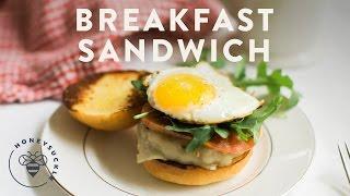 Sausage And Egg Breakfast Sandwich - Honeysucklecatering