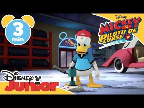 Donald face pe șeful | Mickey și Piloții de Curse | Disney Junior România