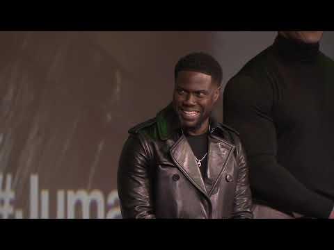 Jumanji The Next Level Paris European Premiere - On Stage (Cam 3)