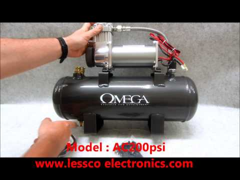 Wow, A 200psi Mobile 12v Air Compressor?