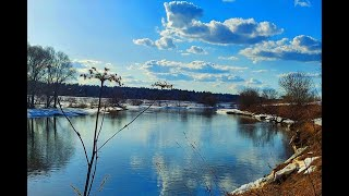 Весенняя рыбалка на Москве реке 31 марта