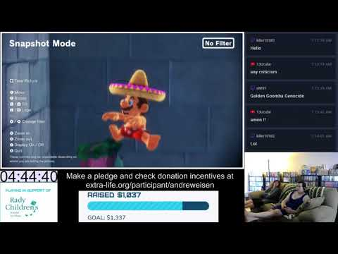 Extra-Life 2017 (15 of 19) - Super Mario Odyssey: Lake and Cloud Kingdoms