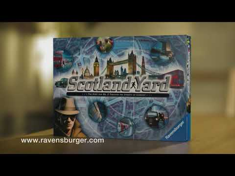 Ravensburger lauamäng Scotland Yard