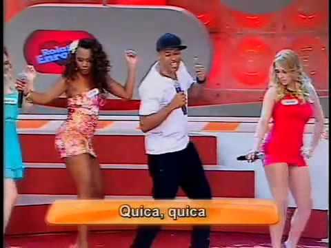 MC Koringa No Programa Eliana Fala De Dançar Kika No Calcanhar Forma Masculina Versão Ed Caom