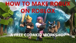 FREE Live Workshop: How to Make Robux on Roblox