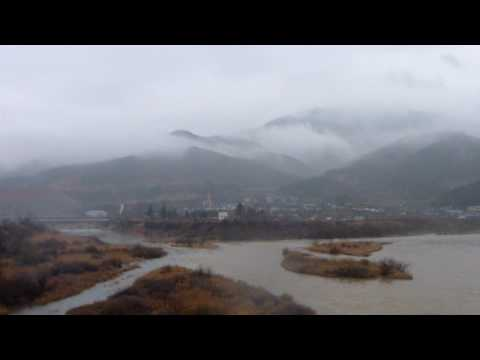 Bike Trip from Seoul to Masan part 14 - Mountains shrouded in mystery
