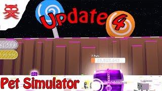 Update 4 - Pet Simulator - Dansk Roblox