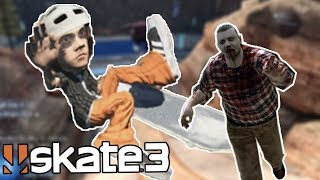 Skate 3: Zombies, Hoverboards, and More! (CHEAT CODES!)