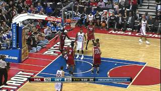 Rodney Stuckey Throws Down In the Lane
