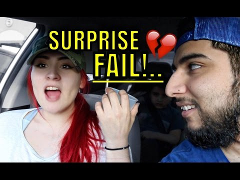 SURPRISED HER W/ AMAZING NEWS FAIL!