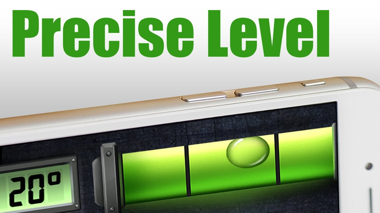 precise level (spirit level) - handy leveling app on ios & android